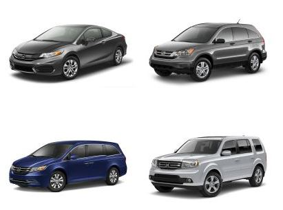 Honda Family Vehicles