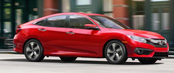 2017 Honda Civic Handling